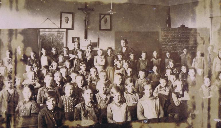 Schulwesen - Historisches Rossbach